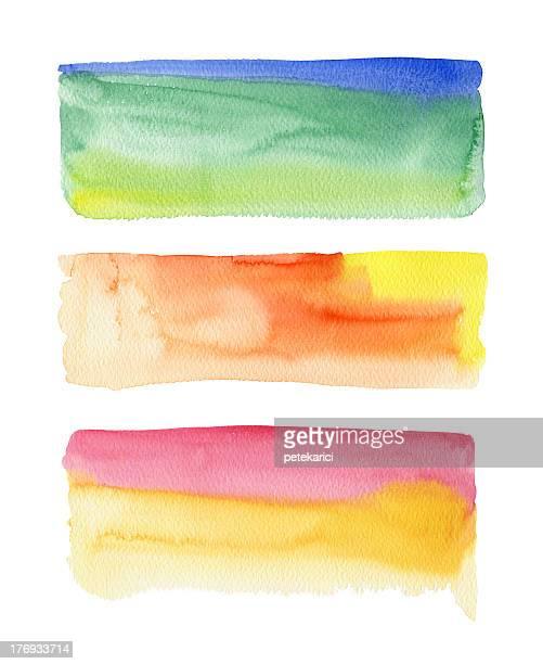 Water Color Strokes