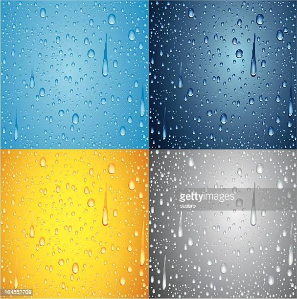 wassertropfen hintergrund - frische stock-grafiken, -clipart, -cartoons und -symbole