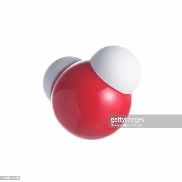 water molecule - atom stock illustrations