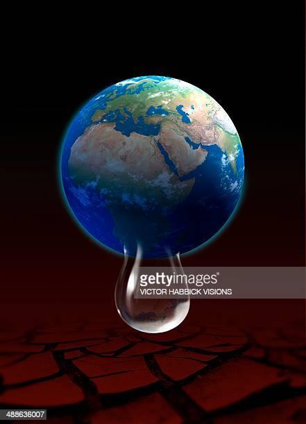 water shortage, artwork - dehydration stock illustrations, clip art, cartoons, & icons