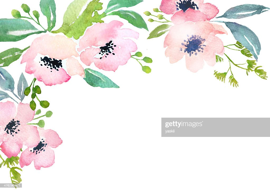 Free Watercolor Flower Images Pictures And Royalty Free