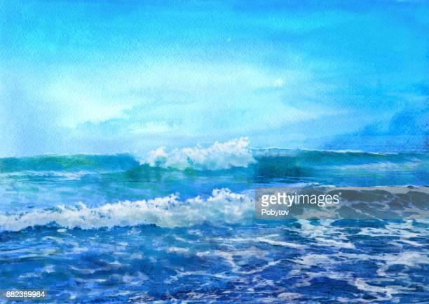 60点の海のイラスト素材クリップアート素材マンガ素材アイコン素材