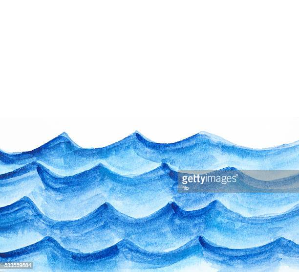 Watercolor Waves