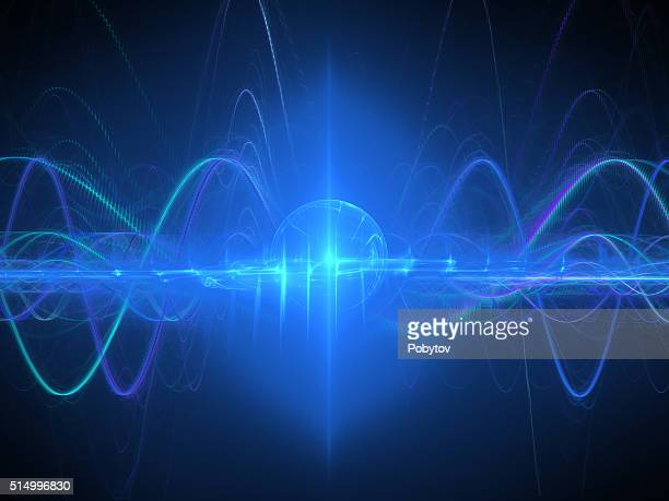 Wave Energy, Scientific Modern Background