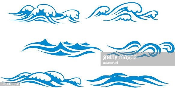 wave symbols vector art | thinkstock
