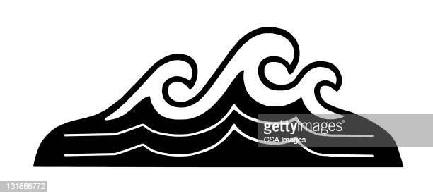 waves - sea stock illustrations