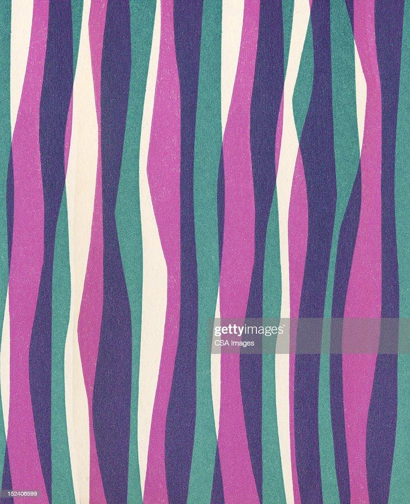 Wavy Stripes : stock illustration
