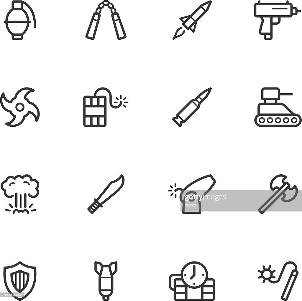 Weapon Icons
