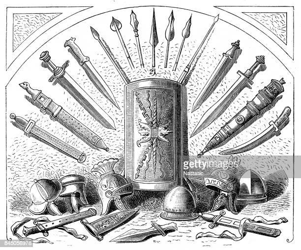 Weapons and armor of Romans