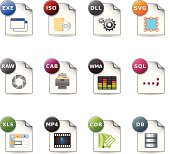 Web Icons - File Formats 6