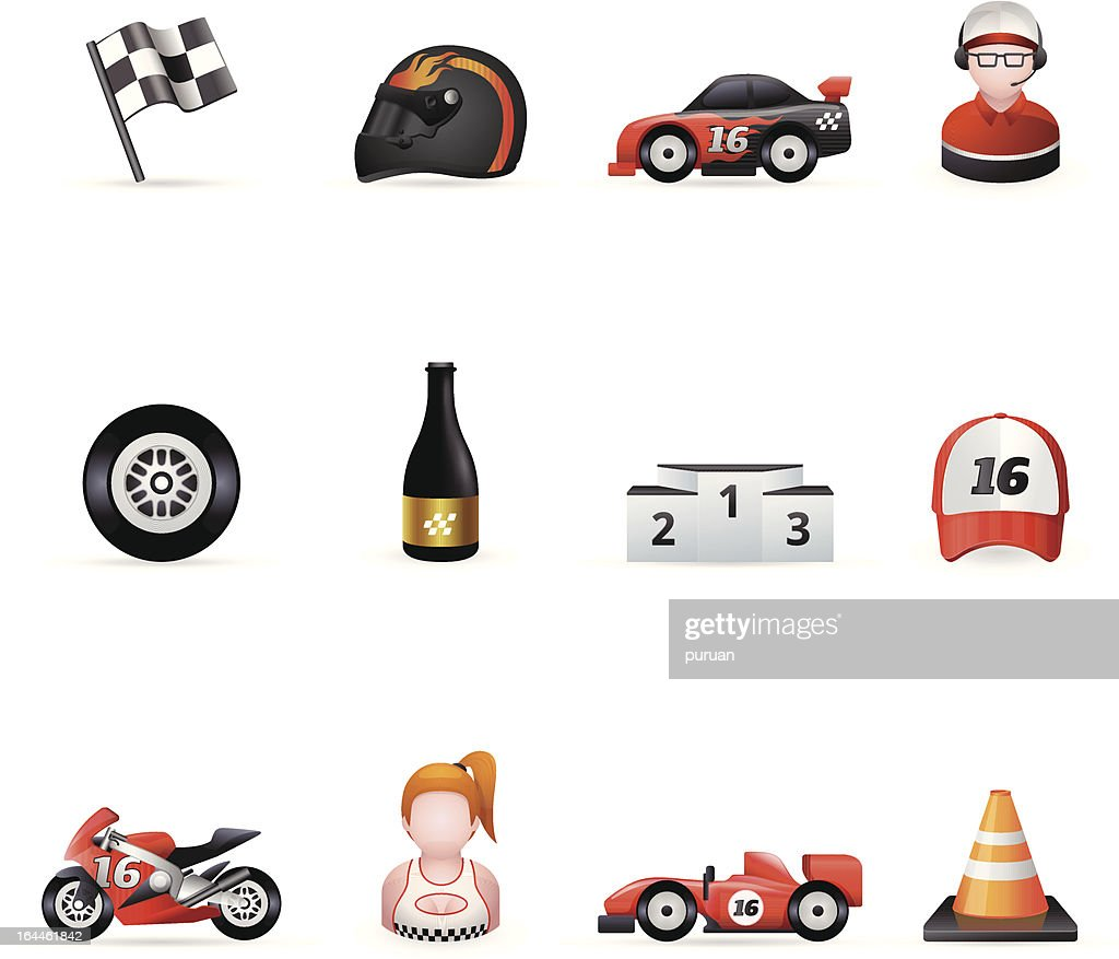 Web Icons - Racing