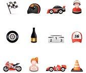 Web Icons - Racing