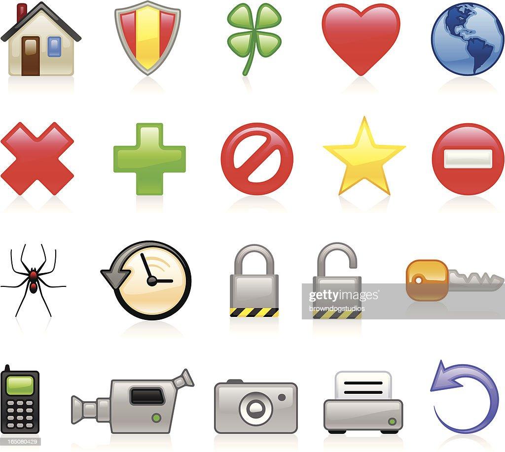 Web II Icons - Color