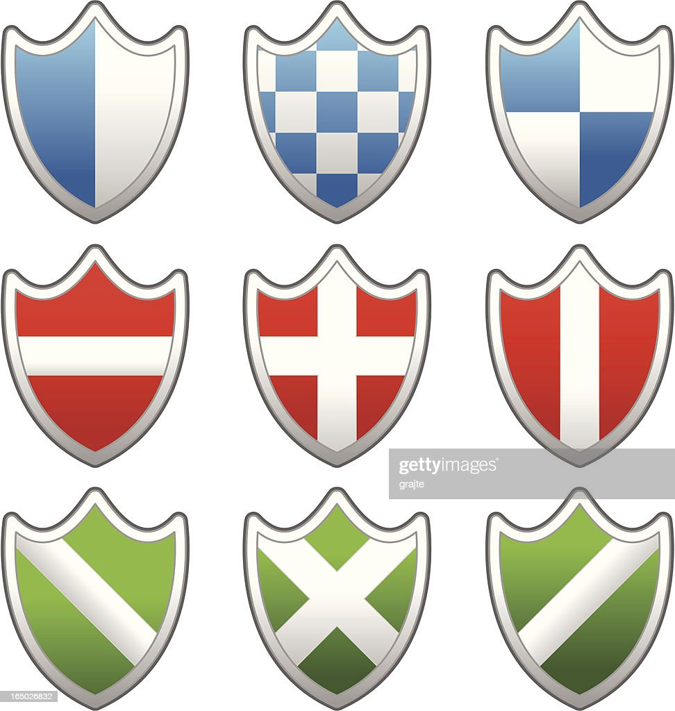 Website & Internet Icons : XP Shields