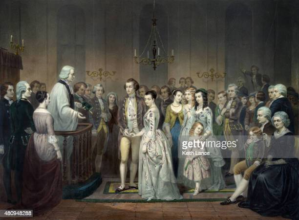 Wedding of George Washington