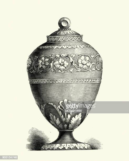 Decorative Urn Stock Illustrations And Cartoons Getty Images