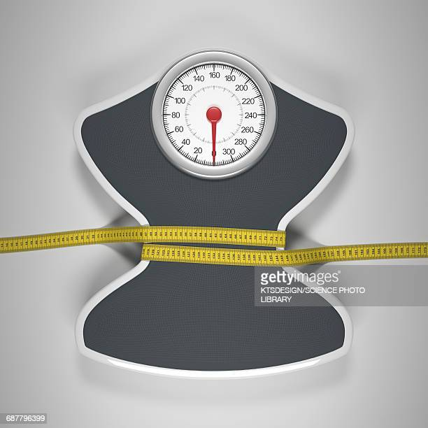 weighing scales - dieting stock illustrations, clip art, cartoons, & icons
