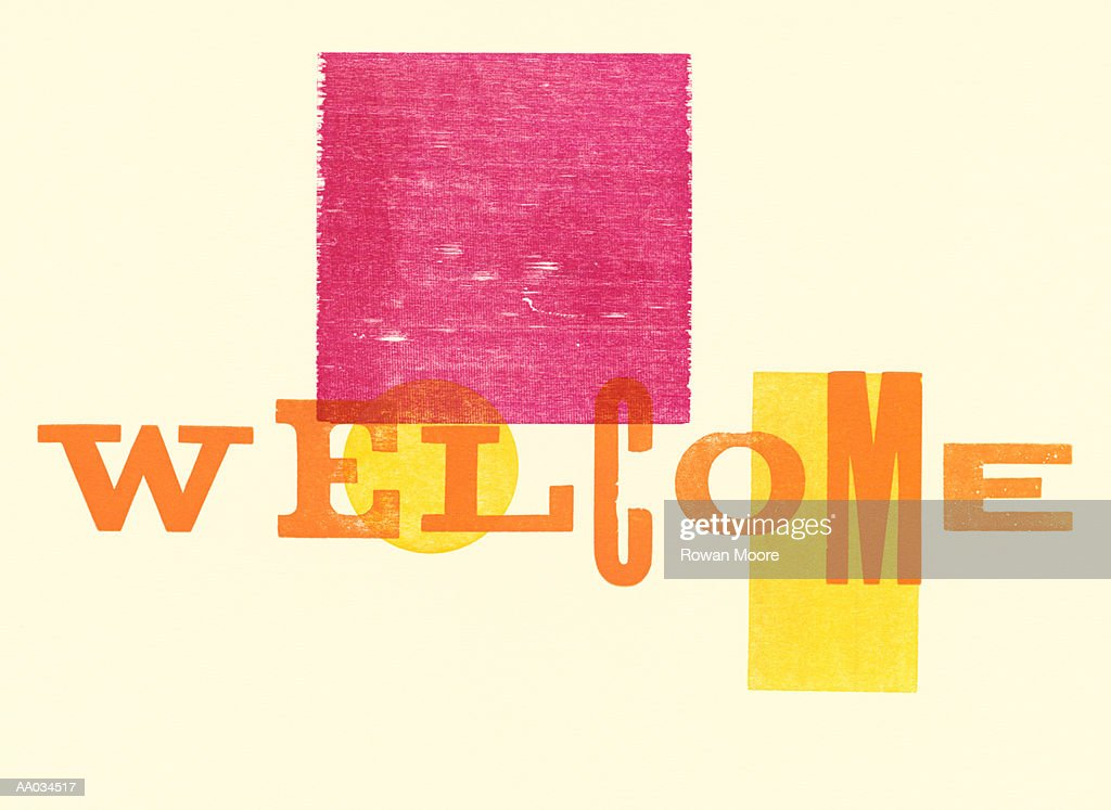 Welcome : Stock Illustration