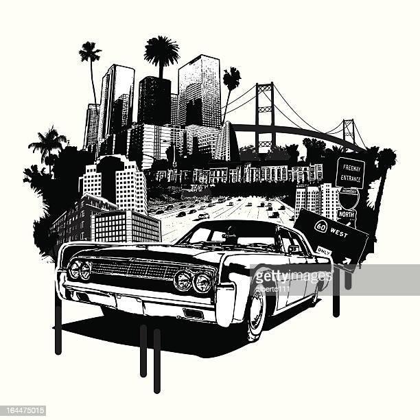 west coast love - long beach california stock illustrations, clip art, cartoons, & icons