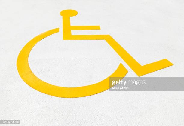 wheelchair symbol - disabled sign stock illustrations, clip art, cartoons, & icons