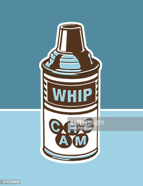 whipped cream - whipped cream stock illustrations, clip art, cartoons, & icons