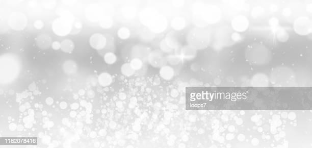 weiße weihnachtslichter - weichzeichner stock-grafiken, -clipart, -cartoons und -symbole