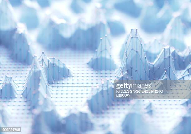 white thee dimensional structures, illustration - built structure stock illustrations