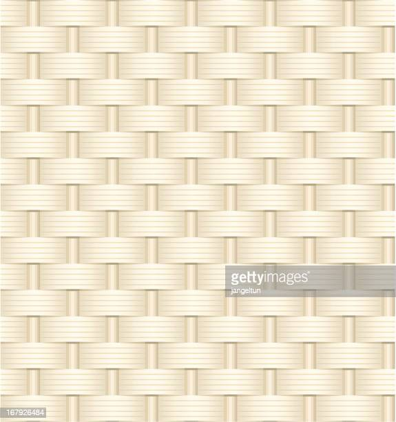 wicker weave texture - braided stock illustrations