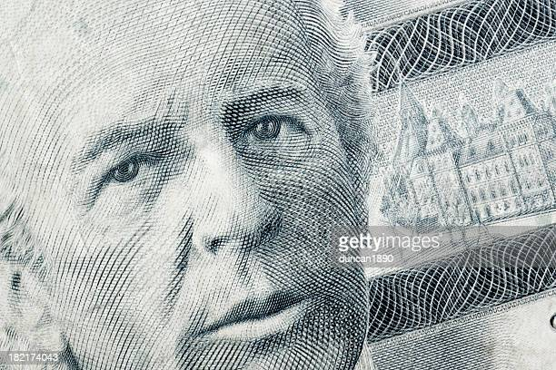 wilfrid laurier - canadian currency stock illustrations