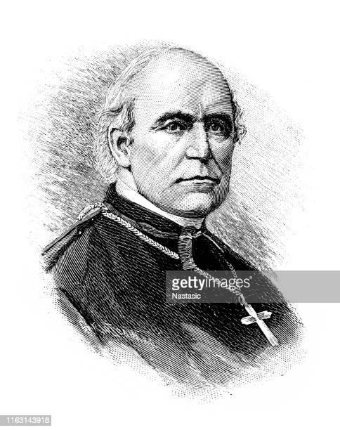 ilustrações, clipart, desenhos animados e ícones de wilhelm emmanuel von ketteler (25 de dezembro de 1811-13 de julho de 1877) foi um teólogo e político alemão que serviu como bispo de mainz - bishop clergy