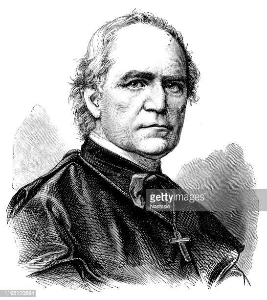 wilhelm emmanuel von ketteler (25 december 1811 – 13 july 1877) was a german theologian and politician who served as bishop of mainz - governmental occupation stock illustrations, clip art, cartoons, & icons