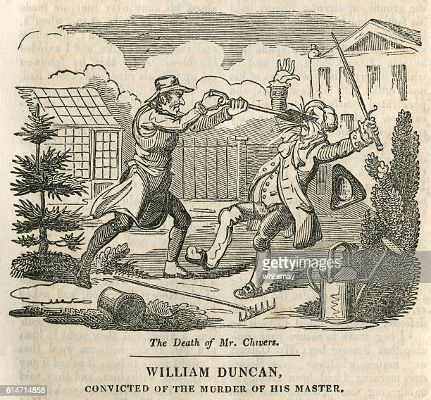 william duncan, convicted for murder - infamous stock illustrations, clip art, cartoons, & icons