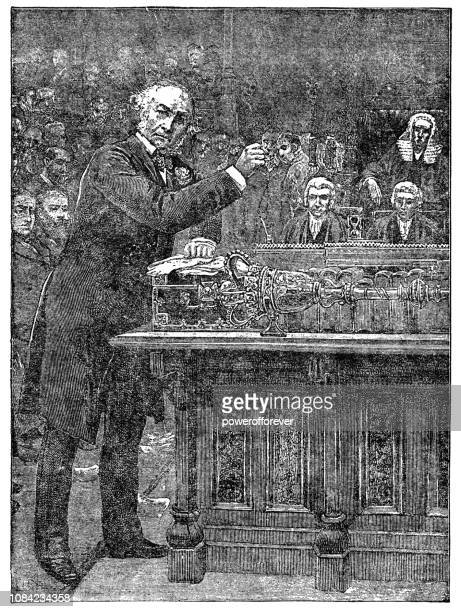 William Ewart Gladstone Presenting the First Home Rule Bill in 1886