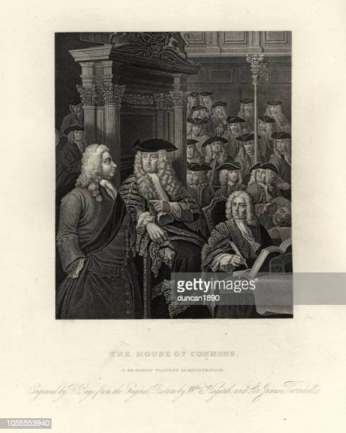 William Hogarth, House of Commons, 1730