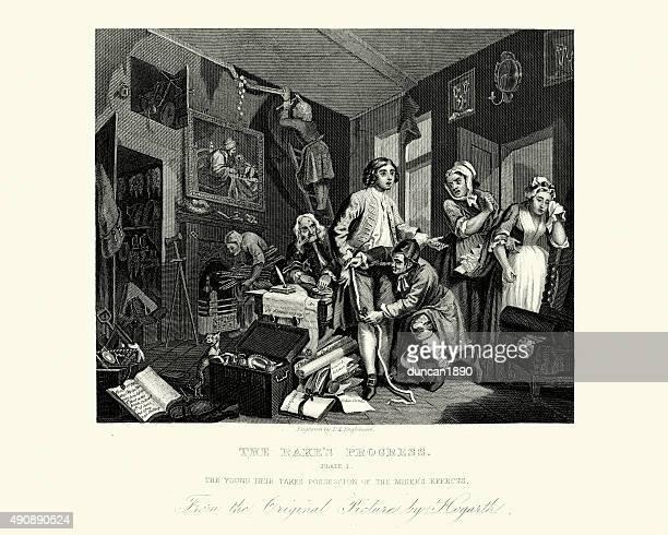William Hogarth a inclinação progresso