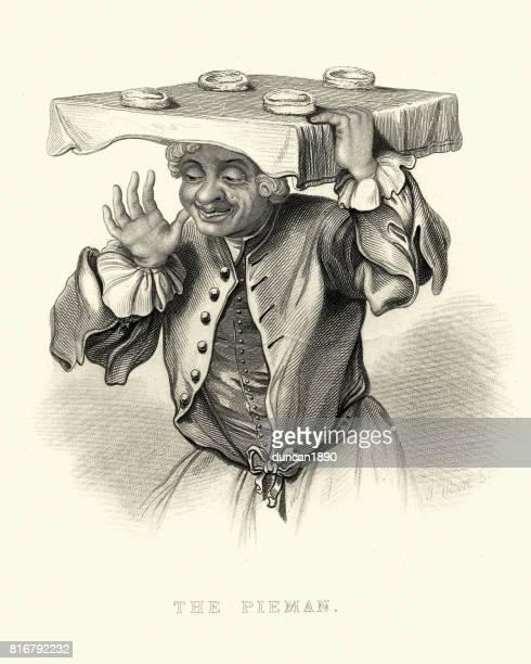 William Hogarth's The Pieman