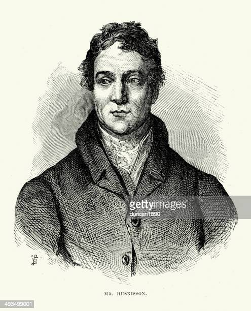 william huskisson - governmental occupation stock illustrations, clip art, cartoons, & icons