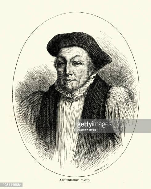 ウィリアム ・ ロード、カンタベリーの大主教 - 17世紀点のイラスト素材/クリップアート素材/マンガ素材/アイコン素材