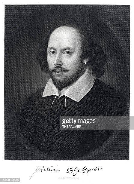 william shakespeare engraving 1870 - william shakespeare stock illustrations, clip art, cartoons, & icons