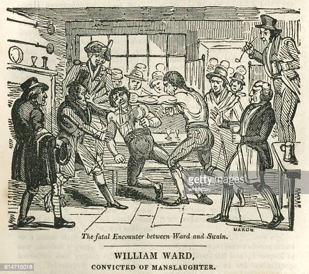 william ward, convicted of manslaughter - infamous stock illustrations, clip art, cartoons, & icons