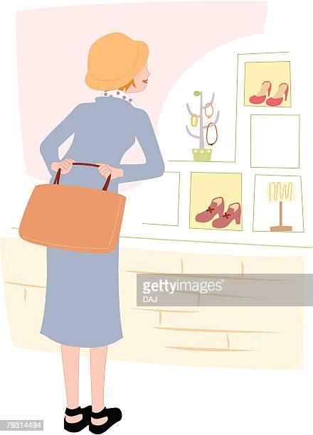 Window Shopping, Illustrative Technique