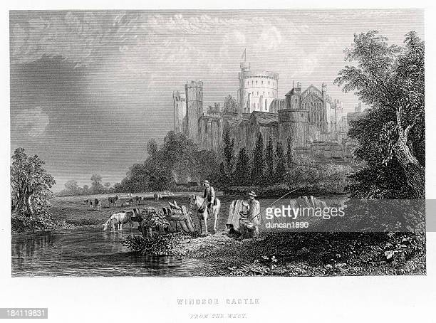 Windsor Castle from the West