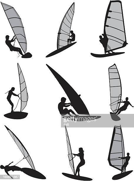 37 Windsurfing Board Stock Illustrations, Clip art, Cartoons