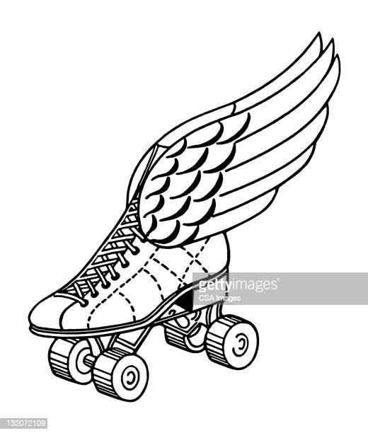 Winged Roller Skate