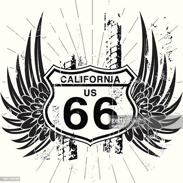 Winging it on Route 66