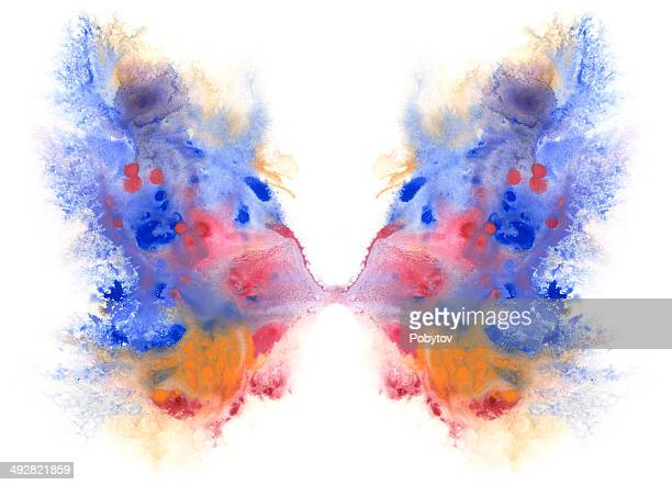 wings butterfly - animal wing stock illustrations