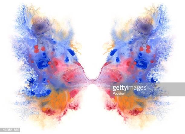 ilustrações, clipart, desenhos animados e ícones de asas de borboletas - asa animal