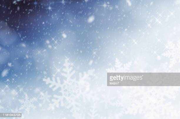 winter abstract snowfall - blizzard stock illustrations