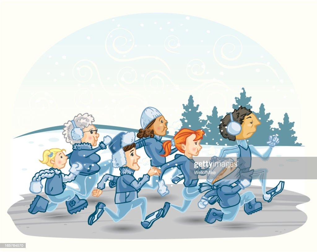Winter Runners