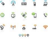 wireless communication icons